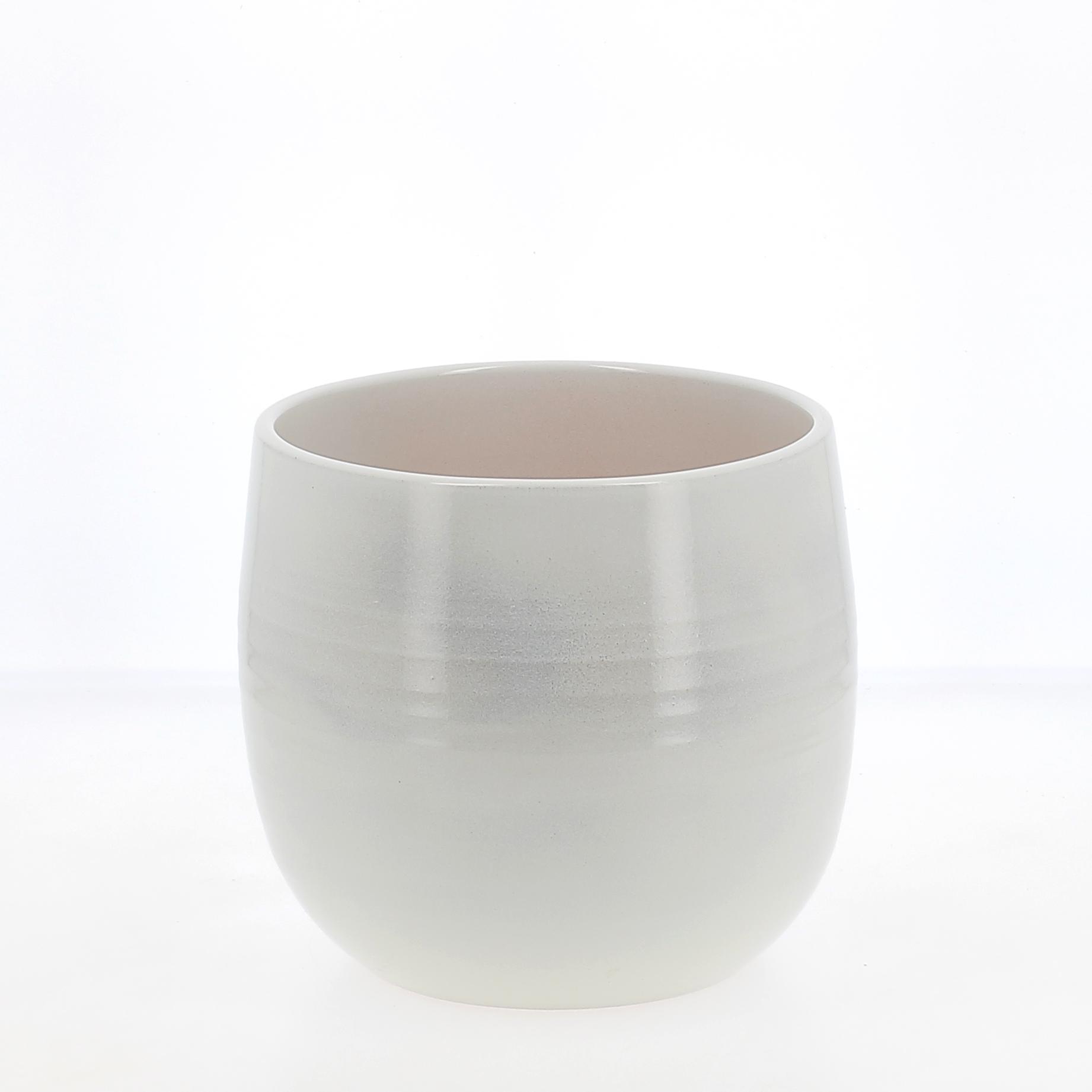 vaso glazing white