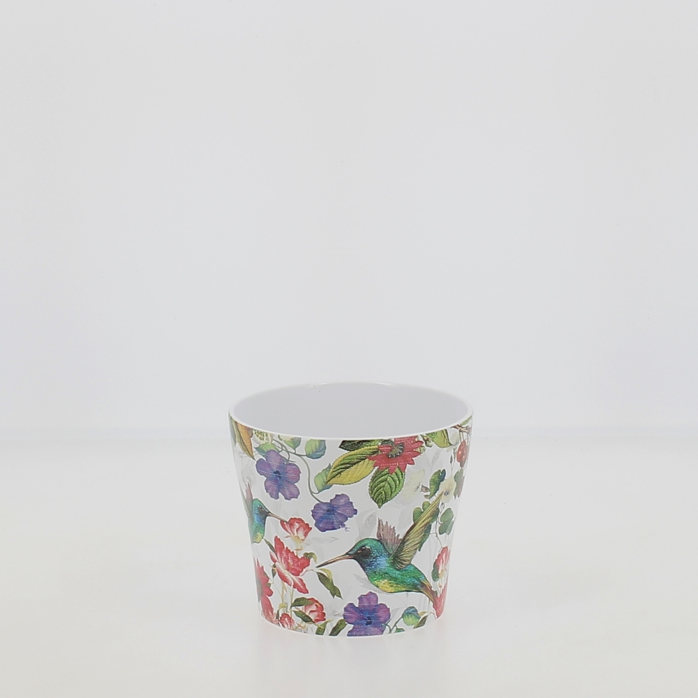 vaso ceramica tropicana