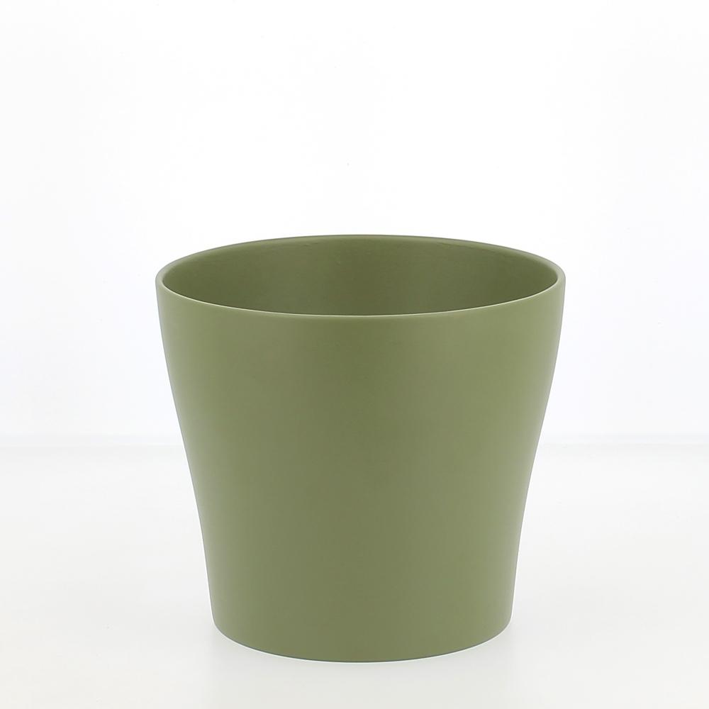 vaso ceramica oliva