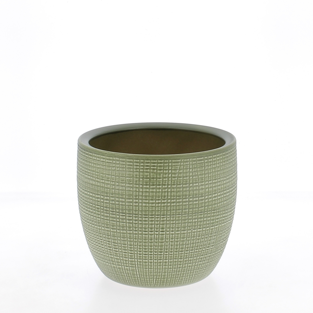 vaso ceramica menta