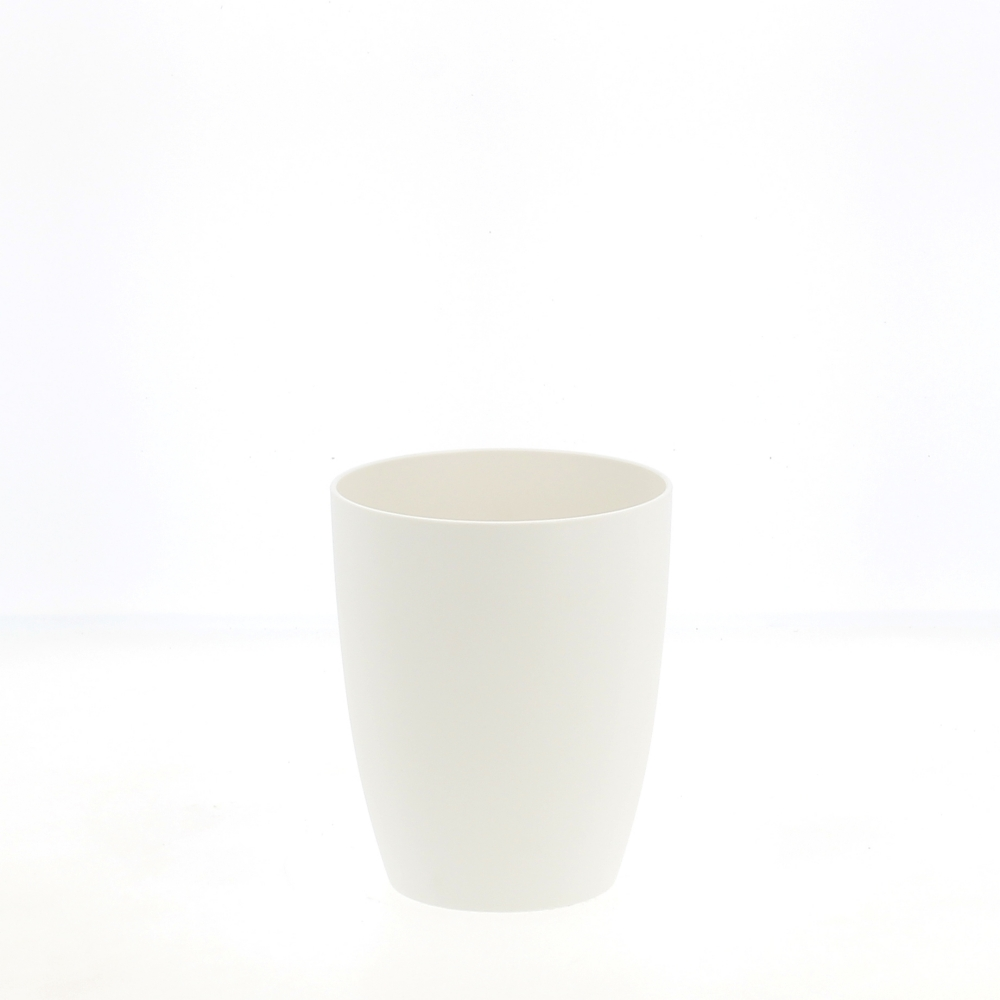 eco vaso bianco