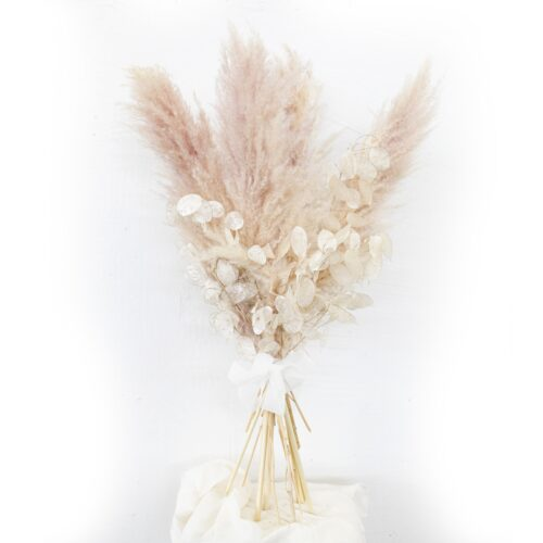 Bouquet di Pampas e Lunaria